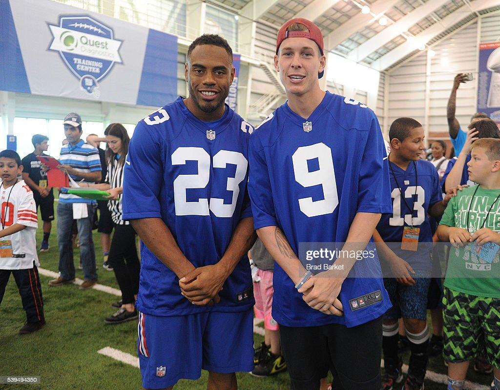 nfl New York Giants Rashad Jennings GAME Jerseys