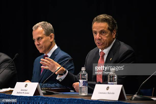 New York Governor Andrew Cuomo issues an executive order putting the State Attorney General Eric Schneiderman in charge of investigating allegations...