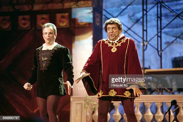 New York Grand Opera performing Verdi's ''Otello'' at Summerstage in Central Park on Wednesday night July 18 2001This imageMichael Corvino left and...