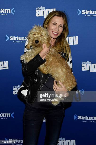 New York Housewife Carole Radziwill attends Andy Cohen SiriusXM celebrate the launch of Cohen's New Exclusive SiriusXM Channel Radio Andy at PHD...