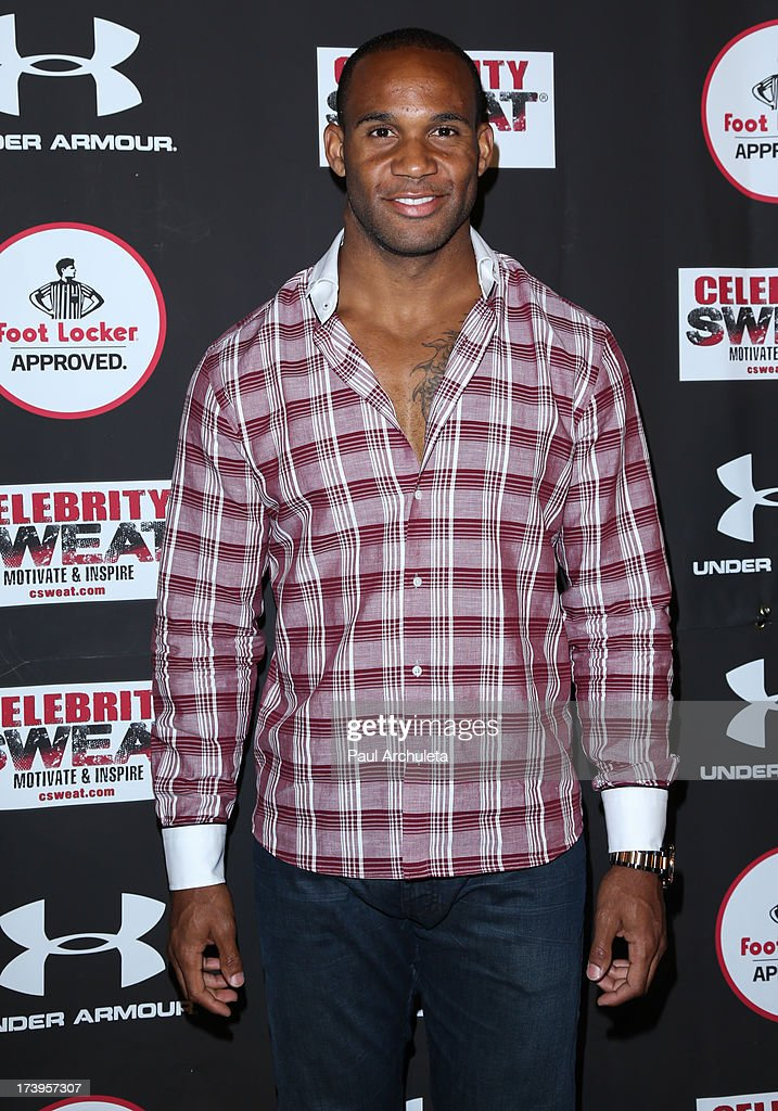 New York Jet Bret Lockett attends the 2013 ESPYS after party on July 17, 2013 in Los Angeles, California.