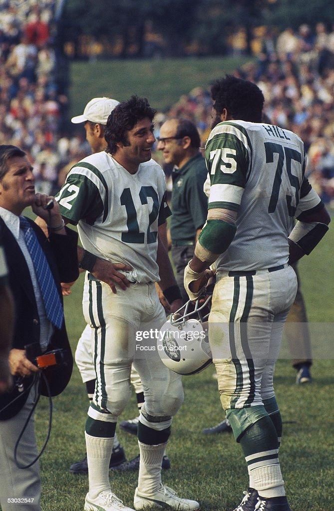 Men S New York Jets Joe Namath 12 Green Color Nfl Rush