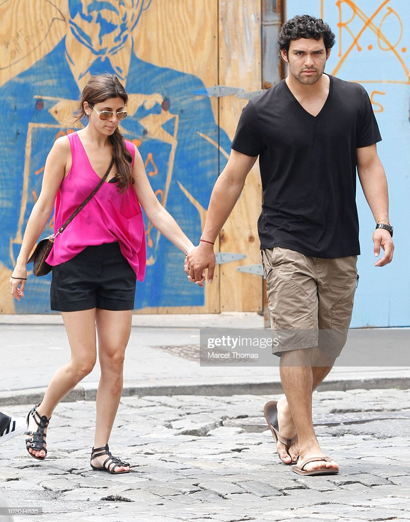 Celebrity Sightings In New York - June 13, 2010