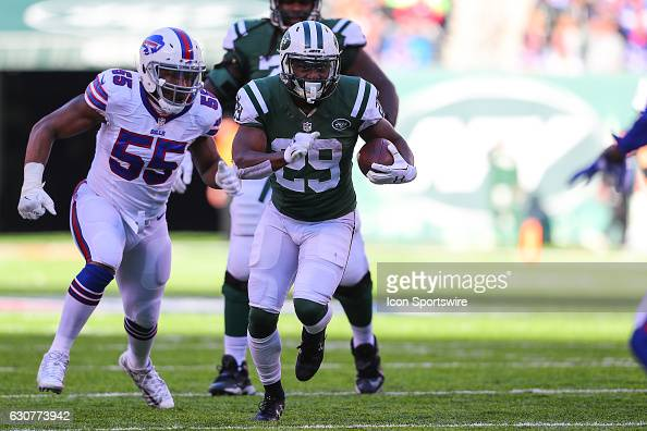 NFL: JAN 01 Bills at Jets : News Photo