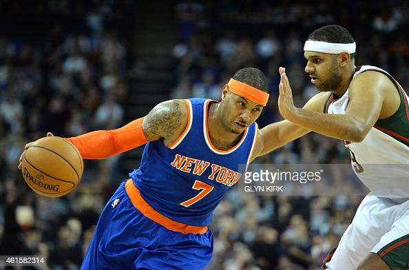 BASKET-GBR-USA-NBA-MILWAUKEE-NY : News Photo