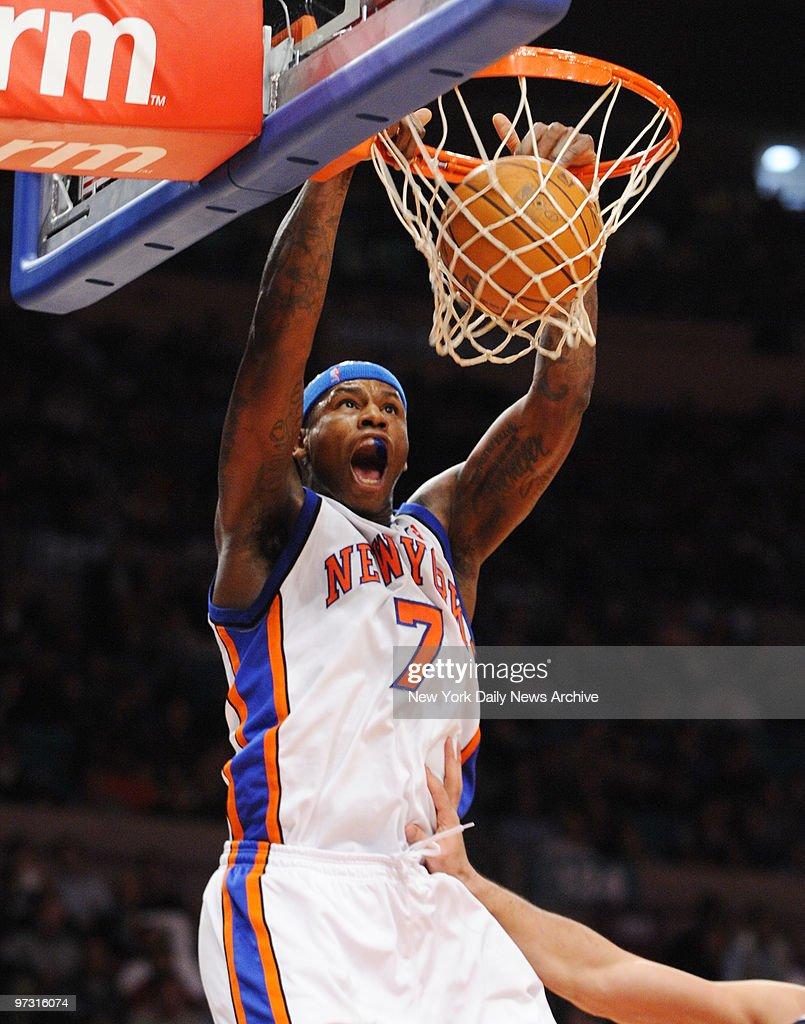 New York Knicks forward Al Harrington in first half vse A