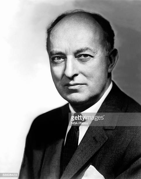 New York Knicks founder Ned Irish poses for a portrait during a portrait session circa 1950 in New York New York NOTE TO USER User expressly...