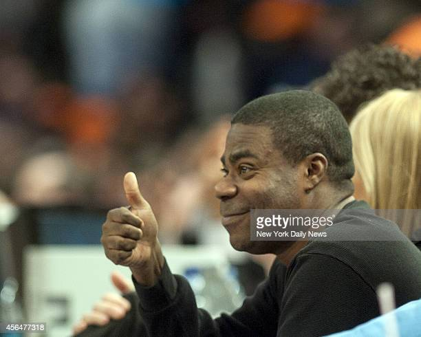 New York Knicks vs Miami Heat Tracy Morgan