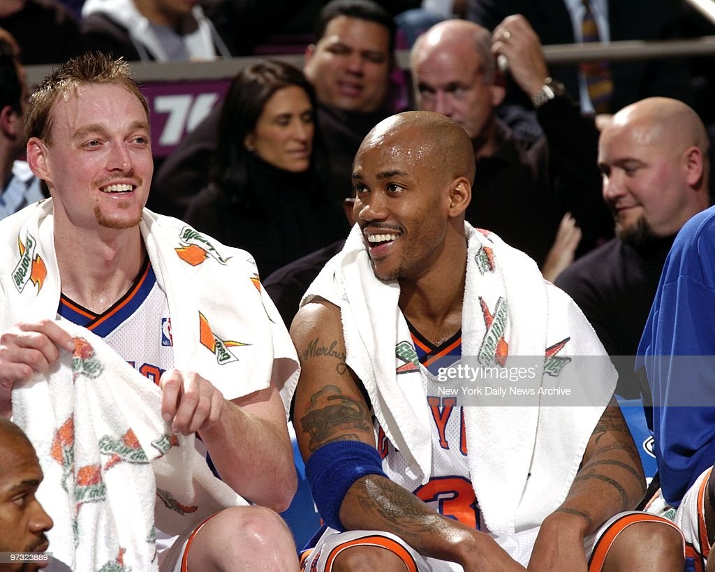 New York Knicks vs Milwaukee Bucks Knicks Keith Van Horn l