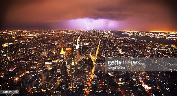New York lightning