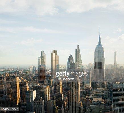 New York London City.