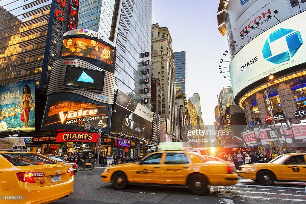New York, Manhattan, Midtown, 7th Avenue : Stock Photo