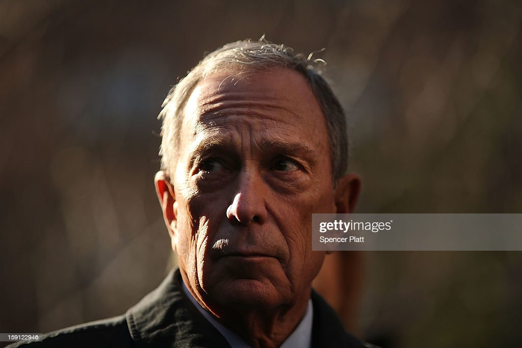 New York Mayor <a gi-track='captionPersonalityLinkClicked' href=/galleries/search?phrase=Michael+Bloomberg&family=editorial&specificpeople=171685 ng-click='$event.stopPropagation()'>Michael Bloomberg</a> attends a news conference where it was announced that free Wi-Fi will be provided to the Manhattan neighborhood of Chelsea on January 8, 2013 in New York City. Google has teamed up with the Chelsea Improvement Project, a local New York City non-profit and the city government to provide free Wi-Fi to the historic neighborhood. The network will become the largest public outdoor service of its kind in New York, and the first neighborhood in the city with free WiFi.