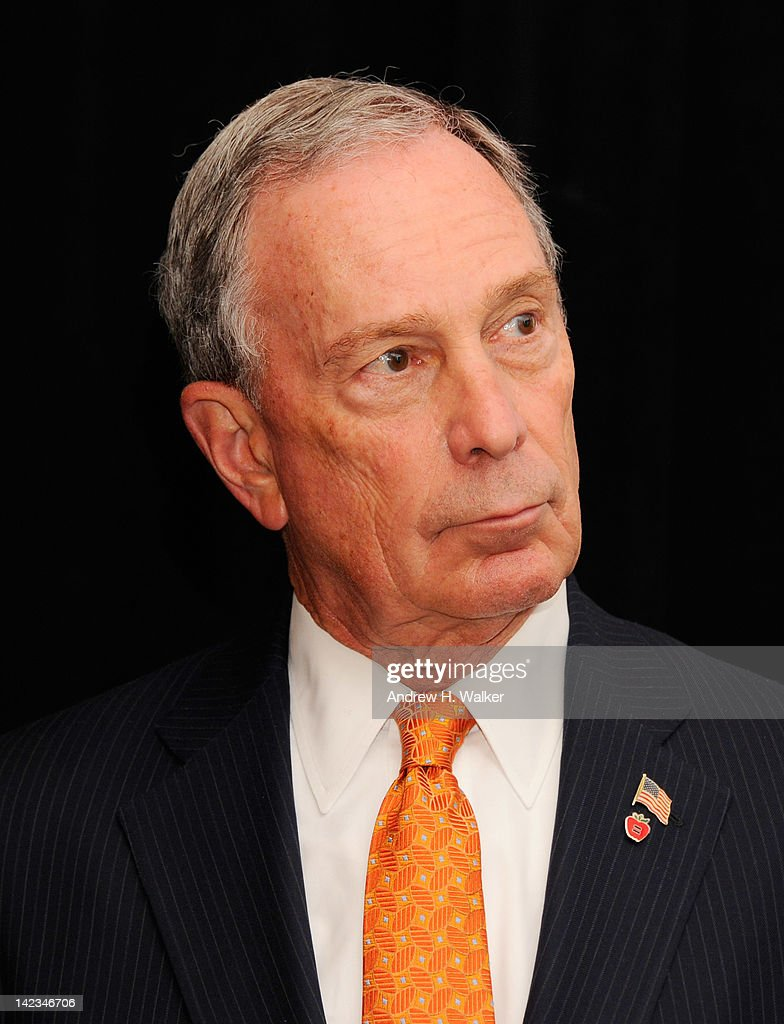 New York Mayor <a gi-track='captionPersonalityLinkClicked' href=/galleries/search?phrase=Michael+Bloomberg&family=editorial&specificpeople=171685 ng-click='$event.stopPropagation()'>Michael Bloomberg</a> attends the 32nd Annual Women's Campaign Fund Parties of Your Choice Gala at Christie's on April 2, 2012 in New York City.