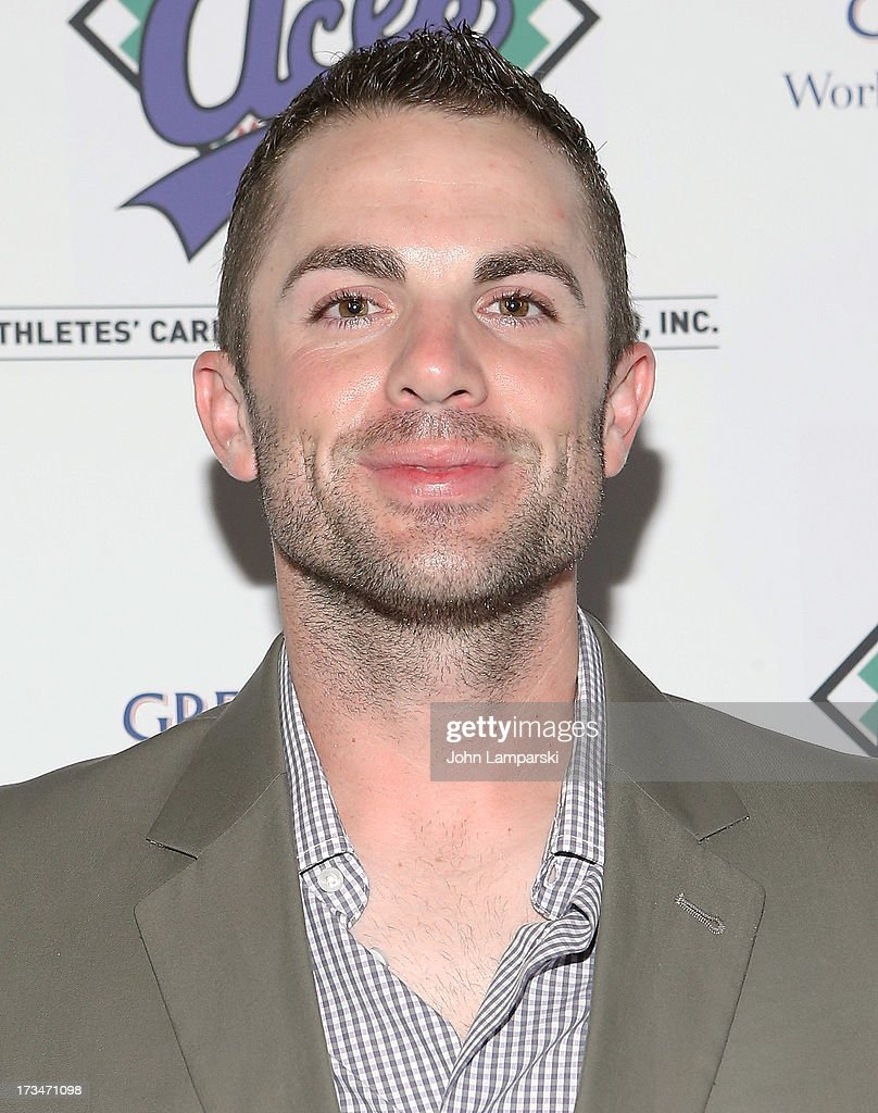 New York Mets <a gi-track='captionPersonalityLinkClicked' href=/galleries/search?phrase=David+Wright+-+Baseball+Player&family=editorial&specificpeople=209172 ng-click='$event.stopPropagation()'>David Wright</a> attends ACES Annual All Star Party at Marquee on July 14, 2013 in New York City.