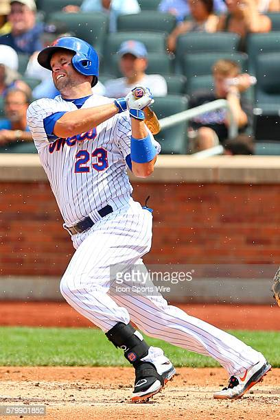 New York Mets left fielder Michael Cuddyer during the game between the New York Mets and the Pittsburgh Pirates played at Citi Field in FlushingNY...