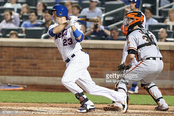 New York Mets left fielder Michael Cuddyer during the game between the New York Mets and the San Francisco Giants played at Citi Field in FlushingNY...