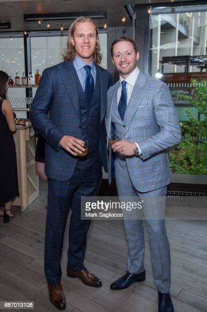 New York Mets Pitcher Noah Syndergaard and Tom Martchitelli attend Gotham Magazine's Celebration of it's Late Spring Issue with Noah Syndergaard at 1...