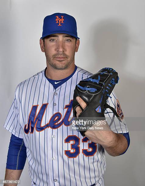 New York Mets starting pitcher Matt Harvey Howard Simmons/NY Daily News via Getty Images