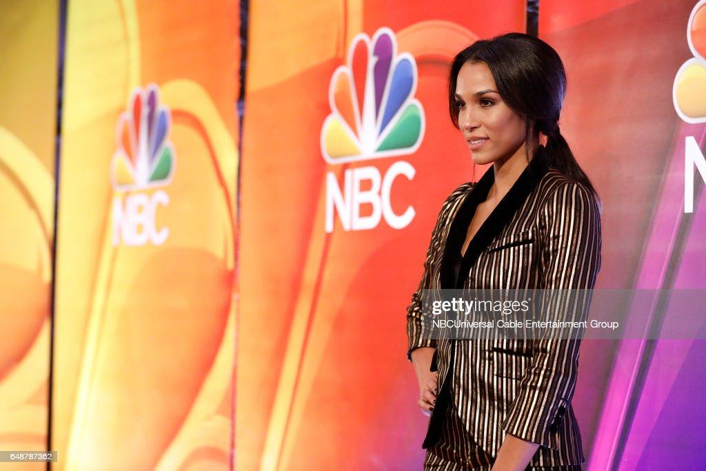 New York Midseason Press Day, March 2017 -- Pictured: Brooklyn Sudano 'Taken' on NBC --