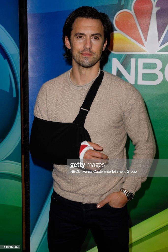 New York Midseason Press Day, March 2017 -- Pictured: Milo Ventimiglia 'This Is Us' on NBC --