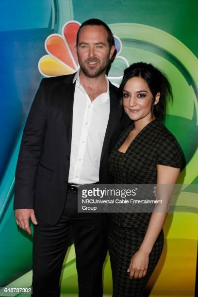 New York Midseason Press Day March 2017 Pictured Sullivan Stapleton Archie Panjabi 'Blindspot' on NBC