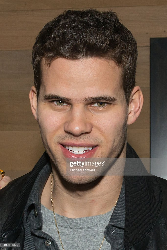 New York Nets player <a gi-track='captionPersonalityLinkClicked' href=/galleries/search?phrase=Kris+Humphries&family=editorial&specificpeople=209199 ng-click='$event.stopPropagation()'>Kris Humphries</a> attends The ONE Group's Ristorante Asellina celebrates two years on Park Avenue South NYC at Ristorante Asselina on February 27, 2013 in New York City.