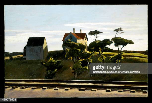 New York New Haven and Hartford by American artist Edward Hopper 1931 Emma Harter Sweetser Fund