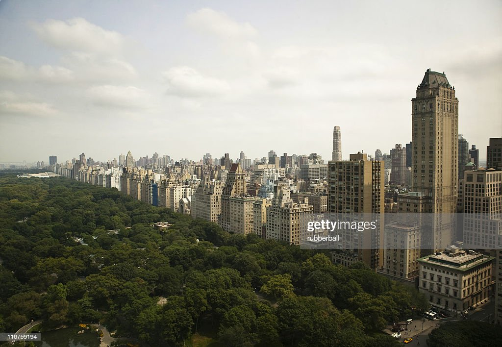 usa new york new york central park und geb ude stock foto getty images. Black Bedroom Furniture Sets. Home Design Ideas