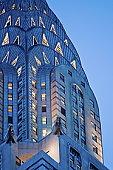 USA, New York, New York City, Chrysler Building detail