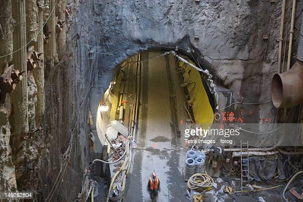USA, New York, New York City, Construction of Second Avenue Subway