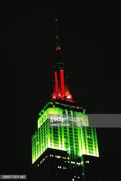 USA, New York, New York City, Empire State Building, night
