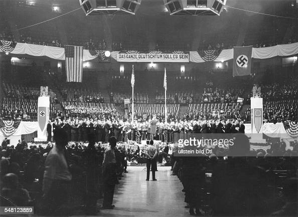 Nazi rally stock photos and pictures getty images - Madison square garden nazi rally ...