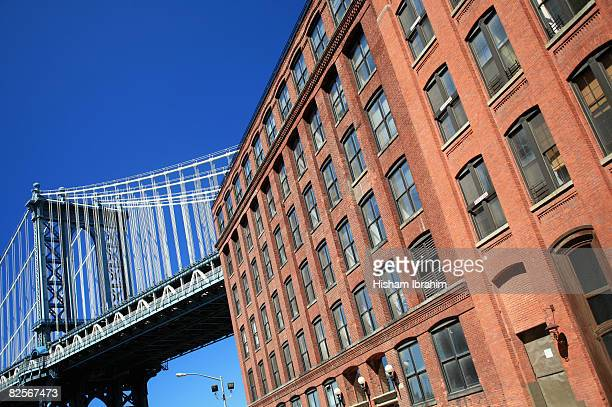 USA, New York, New York City, Manhattan bridge