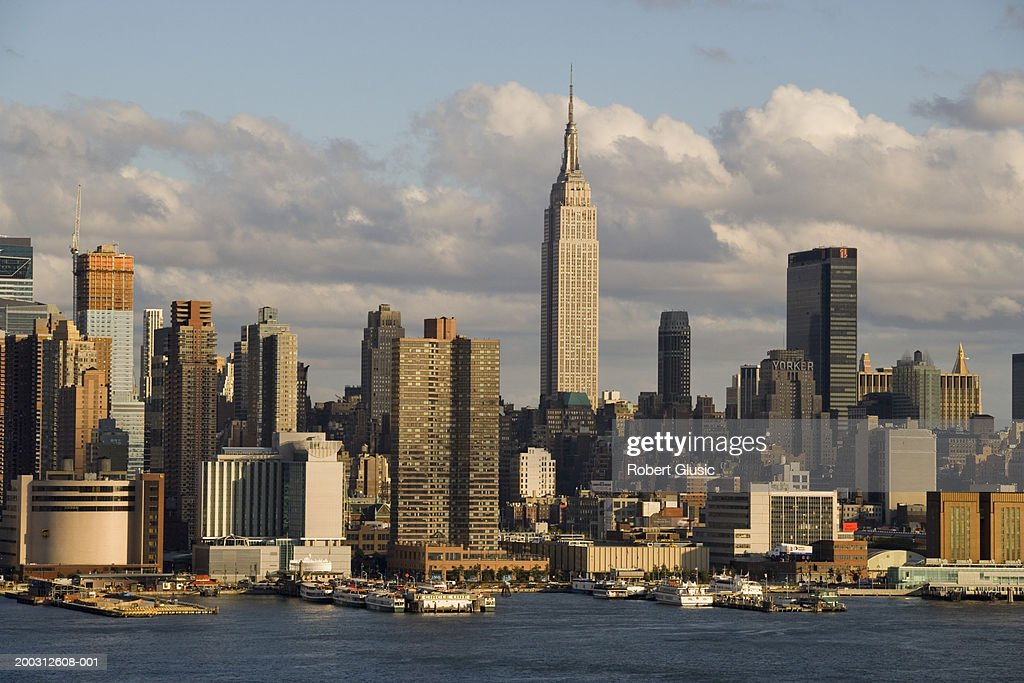 USA, New York, New York City skyline : Stock Photo