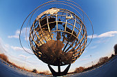 USA, New York, New York City, Unisphere (wide angle)