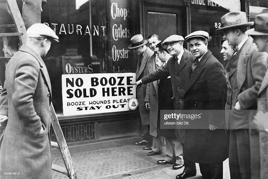 usa population prohibition of alcohol usa 19201933 new