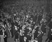 1/1/1940 New York NY A scene in the International Casino as merrymakers danced out the old year and the new one in Early estimates pointed that New...