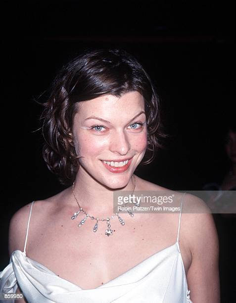 New York NY Milla Jovovich at The Ovarian Cancer Research Fund's Millennium Dresses and Auction A Very Liz Night Photo by Robin Platzer/Twin...