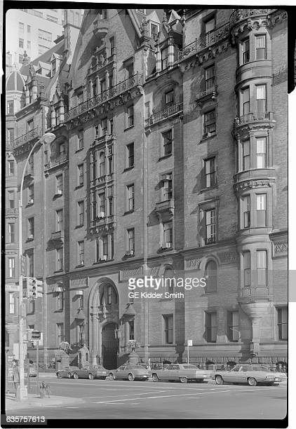 Photo of the south side of the Dakota Building on Central Park West and West 72nd Street Undated photograph