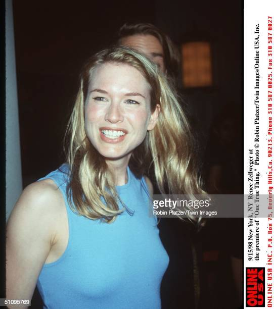 New York Ny Renee Zellweger At The Premiere Of 'One True Thing'