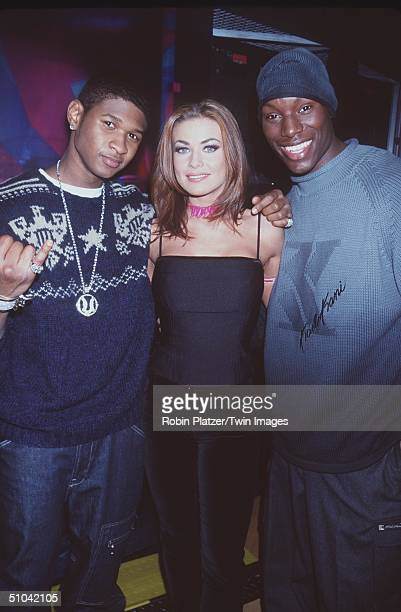 New York Ny Usher Host Carmen Electra And Tyrese At The MTV Celebrity Dream Date