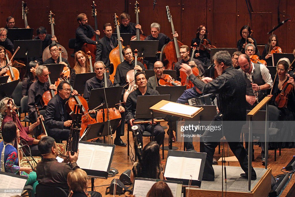 New York Philharmonic and Silk Road Ensemble with YoYo Ma performing at Avery Fisher Hall on Thursday night February 19 2015This imageYoYo Ma in...