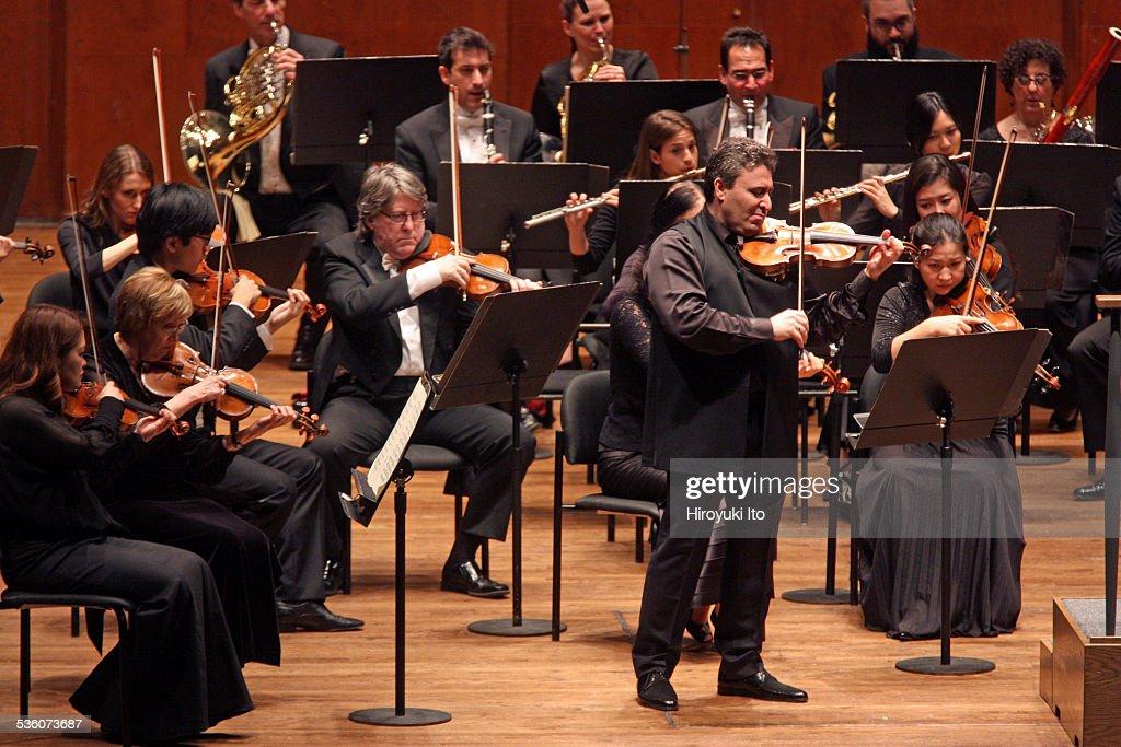 New York Philharmonic performing at Avery Fisher Hall on Thursday night January 22 2015This imageMaxim Vengerov performing Tchaikovsky's 'Violin...