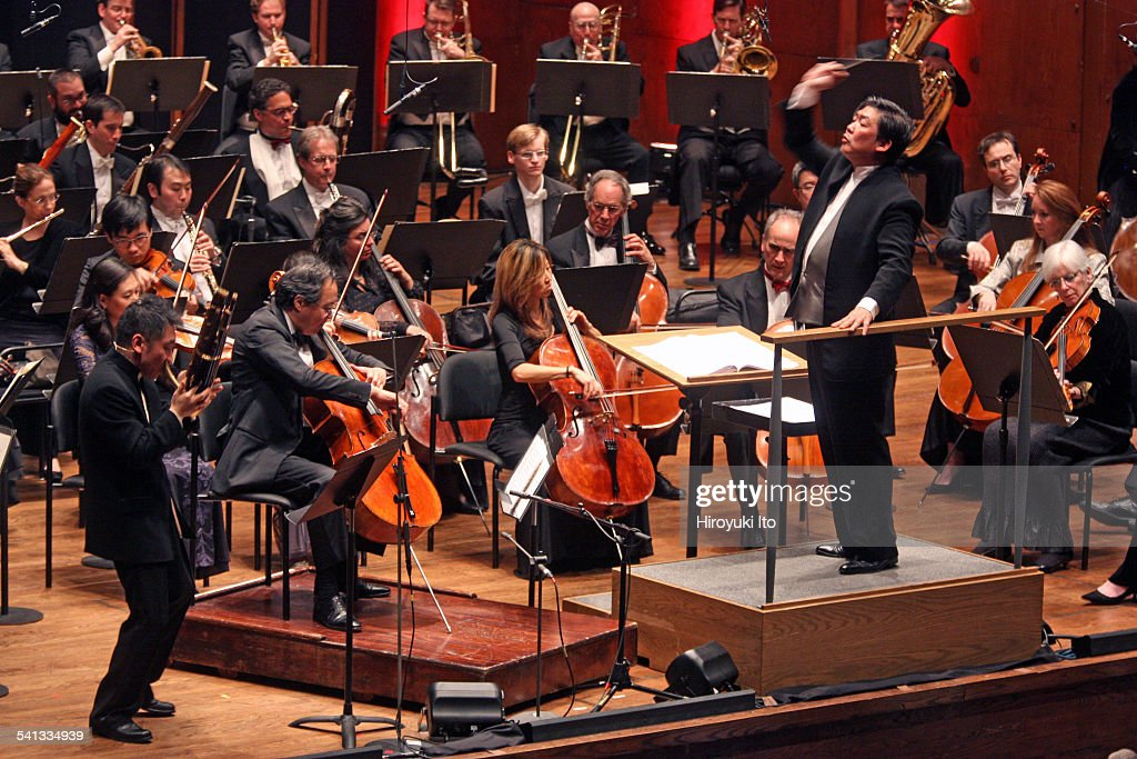 New York Philharmonic performing in 'Chinese New Year Celebration The Year of the Sheep' at Avery Fisher Hall on Tuesday night February 24 2015This...