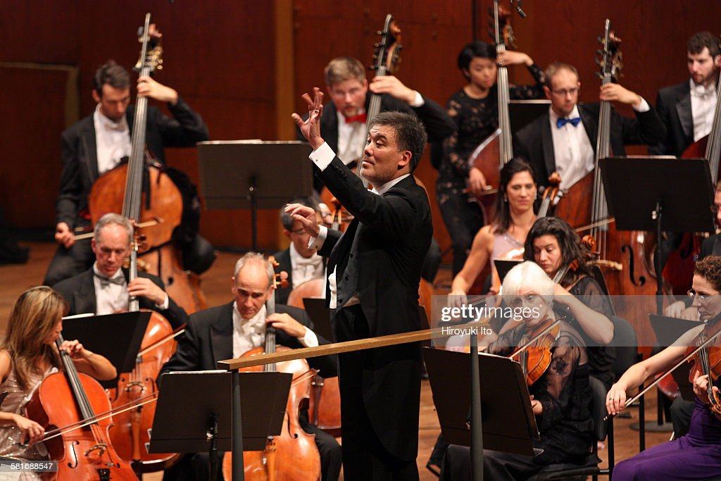 New York Philharmonic performing the opening gala concert at David Geffen Hall on Thursday night September 24 2015Tonight is also the inauguration of...