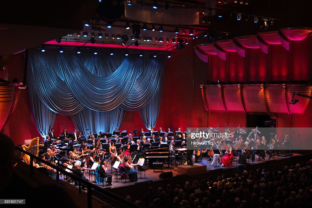 New York Philharmonic presents 'New Year's Eve A Gershwin Celebration' at Avery Fisher Hall on Wednesday night December 31 2014This imageBramwell...