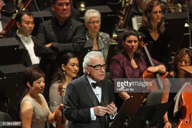New York Philharmonic's opening gala concert 'La Dolce Vita The Music of Italian Cinema' at Avery Fisher Hall on Tuesday night September 16 2014This...