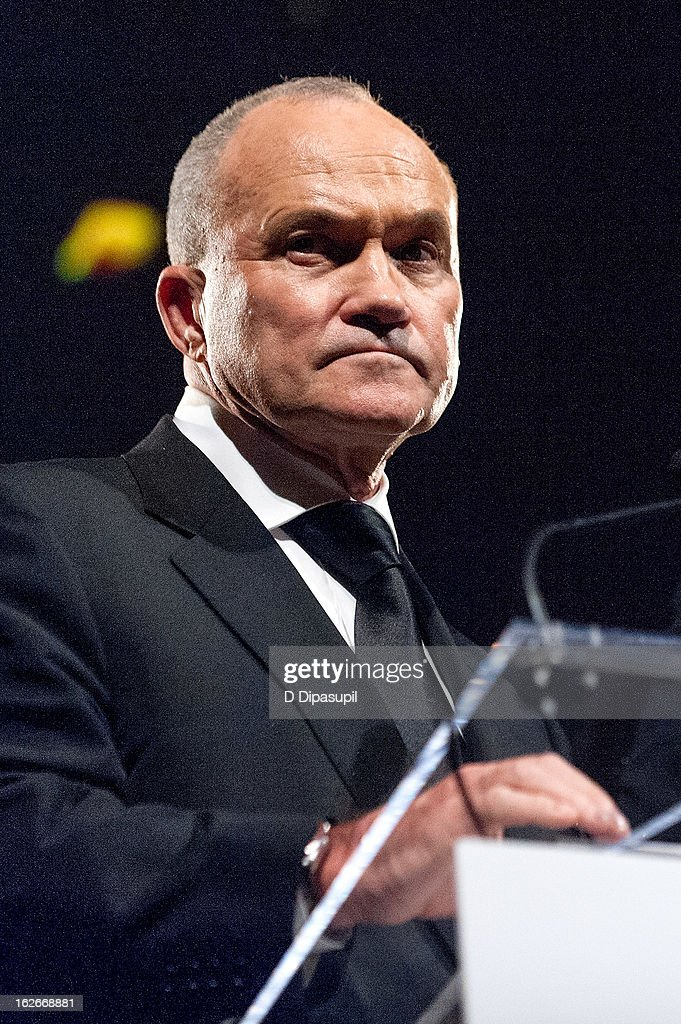 New York Police Department commissioner Raymond W. Kelly speaks on stage during the New Yorker For New York Gala 2013 at Gotham Hall on February 25, 2013 in New York City.