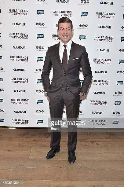 DIVORCE New York Premiere Party at The Crosby Hotel on Thursday November 20 2014 Pictured Luis D Ortiz